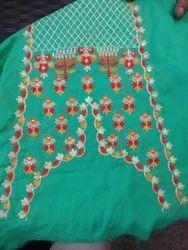 Kurti Embroidery Fabric