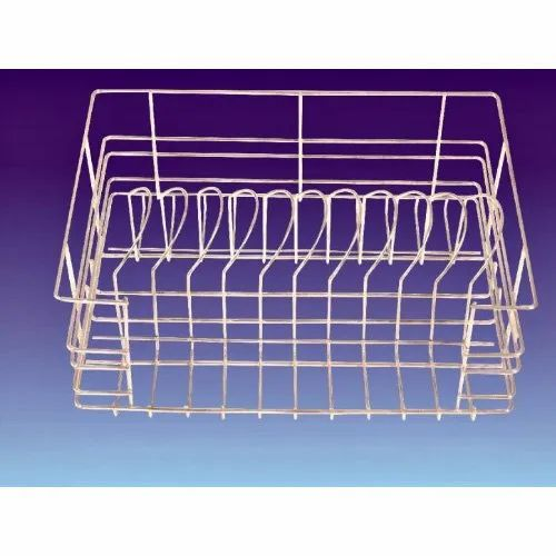 Stainless Steel Rectangular Plate  Basket