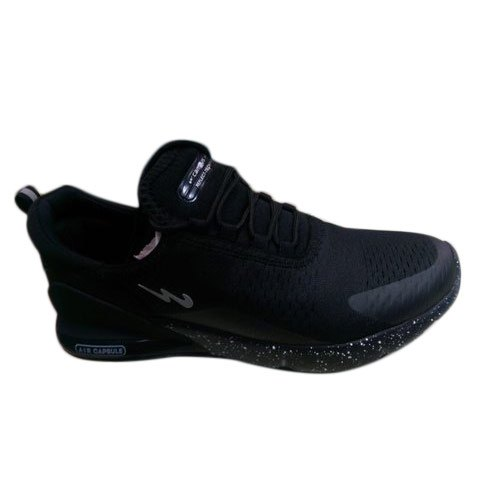 Mens Black Campus Sports Shoes, Size: 7