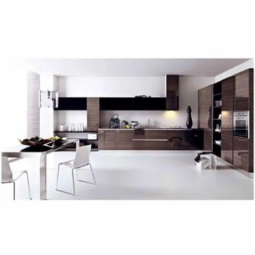 Classic PU Finish Modular Kitchen, Rs 1600 /square feet ...