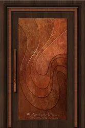 Contemporary Brass  Doors