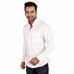 Cotton Full Sleeve Regza Mens Casual Designer Shirt
