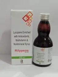 Lycopene Antioxident,Multivitamin & Multiminral Syrup