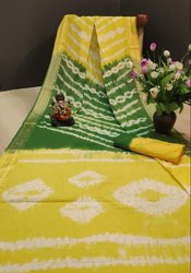 Orignal Bandhej Rang Saree