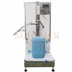 Semi Automatic Liquid Filler With Weighing System