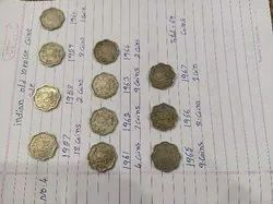 19th Century 10 Paise Indian Coin's