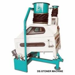 Gravity Selector Cum Destoner Machine