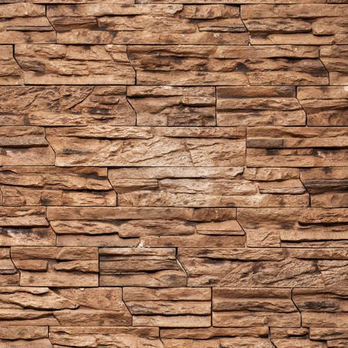 Brown Natural Stone Tile, Thickness: 10-15 mm