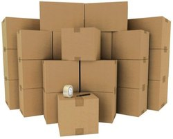 Brown For Food 5 Ply Corrugated Box for Apparel, Capacity: 6-10 kg