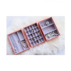 Rectangle Arcylic Jewelry Box, for Earring Packaging