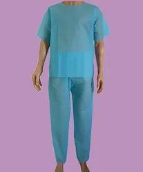 Non Woven Disposable Patient Gown