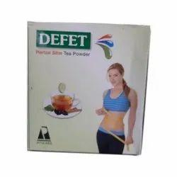 Defet Herbal Slim Tea Powder, Packaging Type: Packet, Packaging Size: 10 Sachet