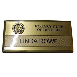 Premium Name Badge