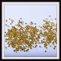 CVD Yellow 1.9mm to 2.2mm 1TCW  VS-SI-I Round Cut Diamond
