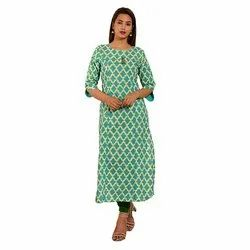 Princess Cut Pattern Casual Kurti