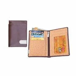 CC 196 Brown Leather Card Holder