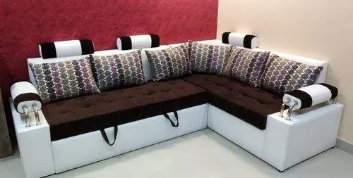 Sk Furniture L Safe Sofa Low Price Manufacturer From Kolkata
