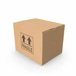 Brown Printed Corrugated Shipping Box