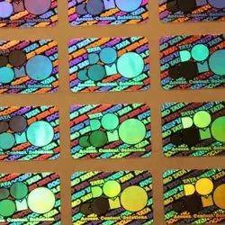 Flip-Flop Hologram Sticker