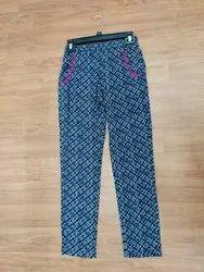 Ladies Viscose Rayon Pant