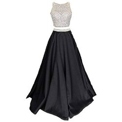 Party Wear Ladies Crop Top and Skirt, Size: S-xl