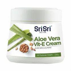 Sri Sri Tattva Aloe Vera Vitamin E Cream, Packaging Size: 150 gm