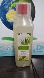 Aloevera with honey ginger juice