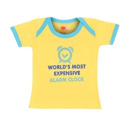 Kids Boys & Girls Printed Cotton Blend T Shirt