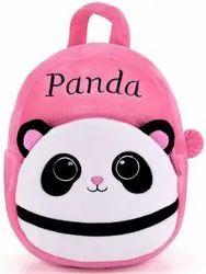 Panda Kids School Bag Soft Plush Backpacks Cartoon Baby Boy/Girl (2-5 Years) (Light Pink)