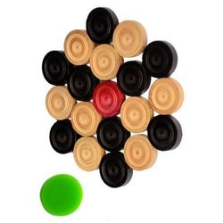 Wooden Carrom Coin