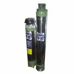 51 to 100 m Single Phase 1 HP Borewell Submersible Pump200feet copper winding