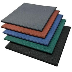 Gym Floor Tiles, Thickness: 10-15 mm