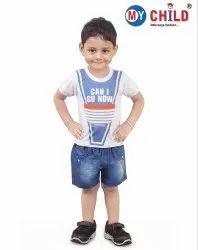 Casual Wear Multicolor Baby Boy Top & Bottom Sets - Partywear (Style No.CB10)