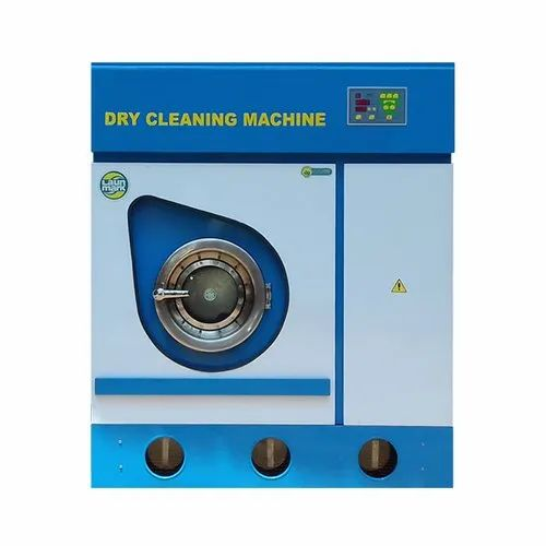 Perc Dry Cleaning Machine 8 Kg Eletrical Semi Automatic
