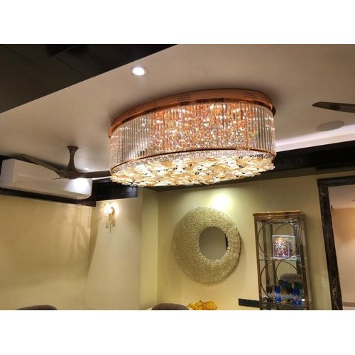 Glass LED Designer Hanging Ceiling Light, For Home And Hotel, IP Rating: IP33