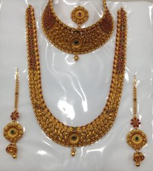 Brass Bridal Jewellery Set