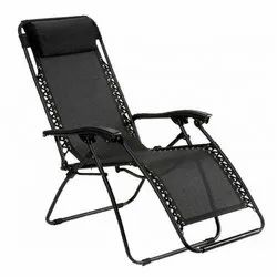 Black MS Folding Relax Chair, For Home