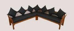 PMJ Wooden Sofa Set