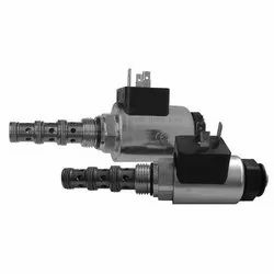 4/2 Directional Valve, Solenoid Operated, Spool-Type, Direct-Acting