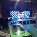 Indoor Digital DJ Background LED Stage Screen