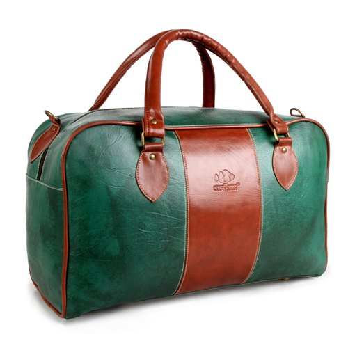 The Clownfish Synthetic 1102 Cms Green Hybrid Travel Duffle at Rs ... 87eab98eb48e3