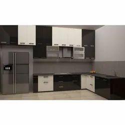 Best Acrylic Modular Kitchen Acrylic Kitchen Cabinet Professionals Contractors Designer Decorator In Surat À¤¸ À¤°à¤¤ Gujarat