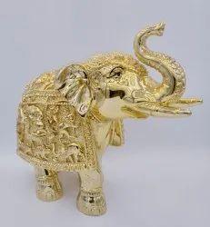 Gold Elephant Idol