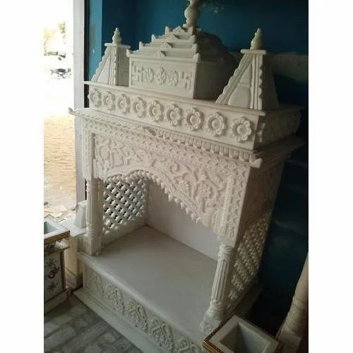 White Marble Temples Tiles