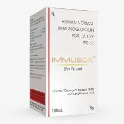 Immusor Human Normal Immunoglobulin For Intravenous Administration I.P