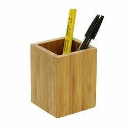 Wooden Pen Holder, For Pen Holding Use