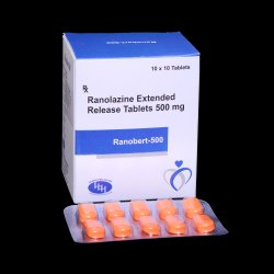 Ranolazine  Exetented Release 500mg Tablets