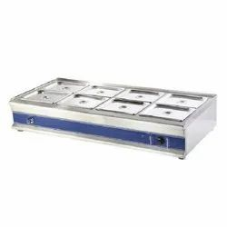 8TW Table Top Bain Marie Without Glass