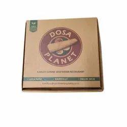 Kraft Paper Printed Dosa Packaging Box