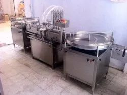Automatic Mustard Oil Filling Machine